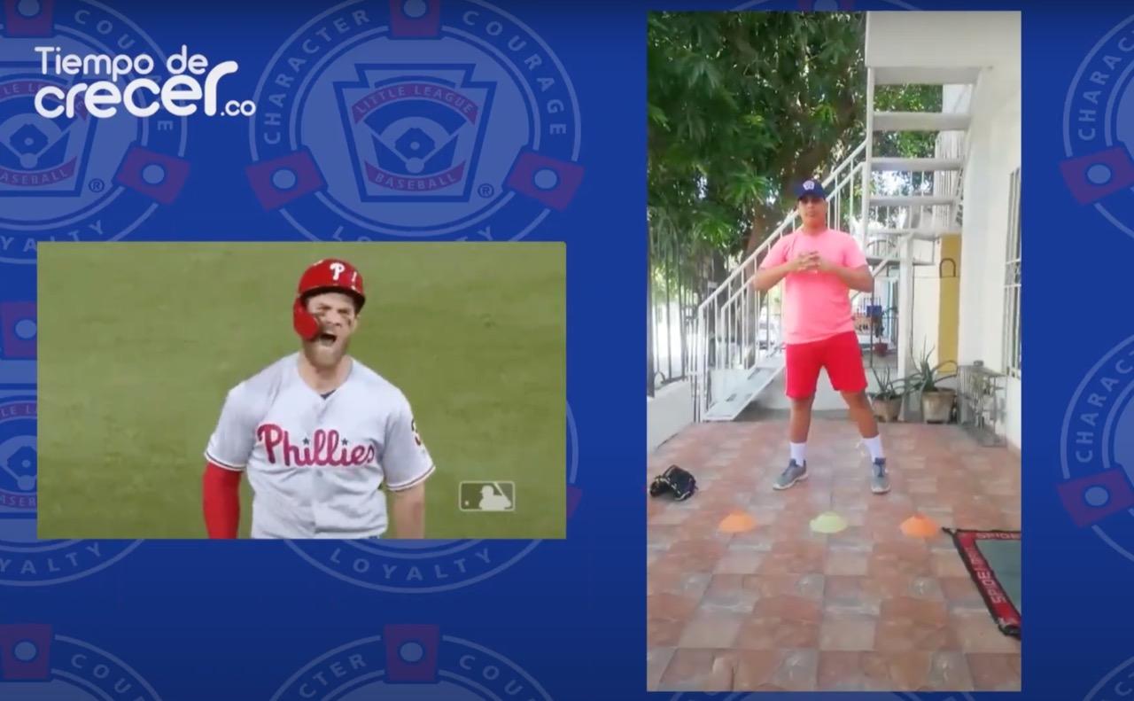 ¡Que no hayan excusas: rutina de béisbol en casa!