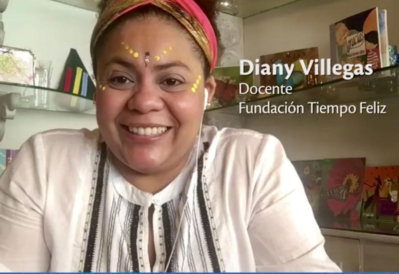 Cantos tradicionales con Diany Villegas.