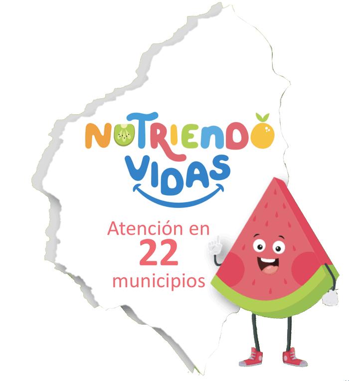 atención en 22 municipios